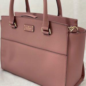 💕 NWT! Kate Spade Large Lana Leather Satchel
